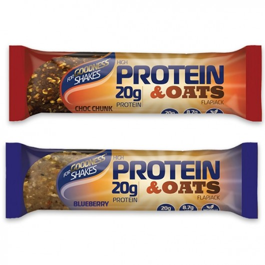 For Goodness Shakes Protein & Oats Flapjack 75g