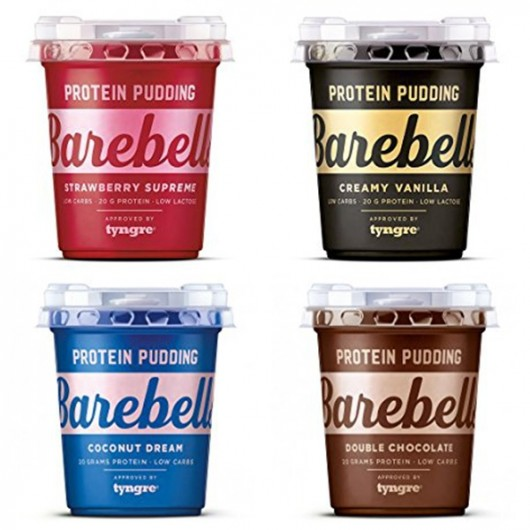 Barebell Puddings - 4 Flavour Variety Pack