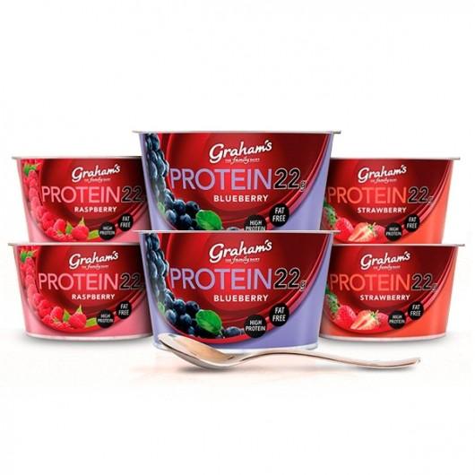 22g Protein Yogurt by Grahams - 6 pack