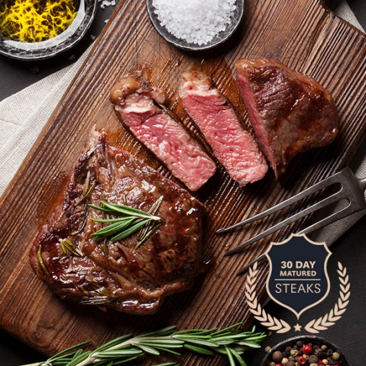 NEW 2 x The Heritage Range™ 30 Day Matured 170g Rump Steaks