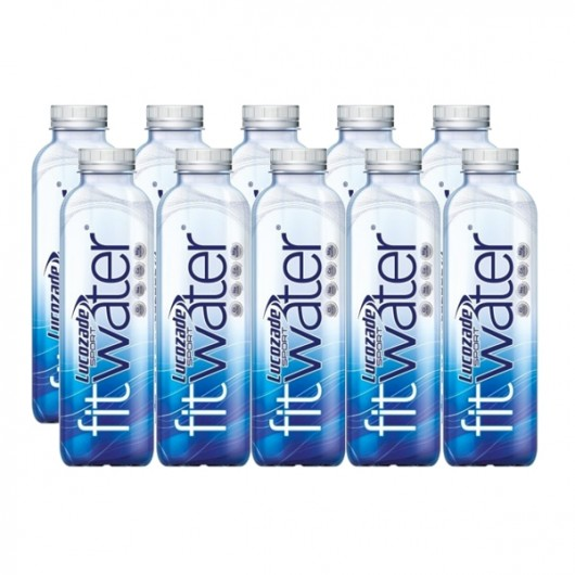 10 x Lucozade Sport Fit Water 600ml