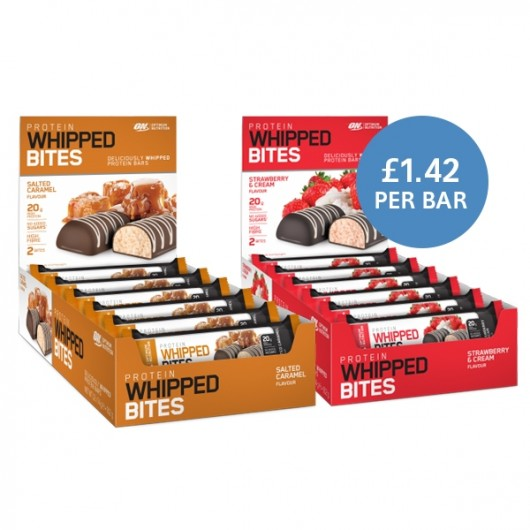 Protein Whipped Bites Selection by Optimum Nutrition