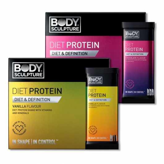 Body Sculpture Diet Protein Sachets 25% OFF