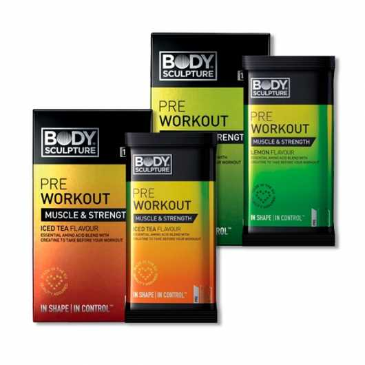 Body Sculpture Pre Workout Sachets x10