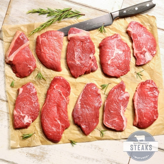 10 x Farm Essential™ Rump Steaks ****