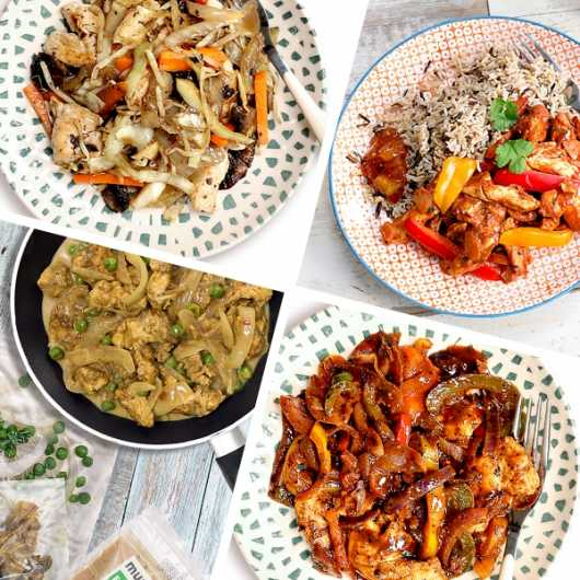 6 Healthy Meals Ready Prepped - Just £2.50 Per Meal