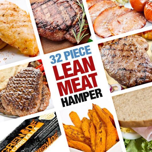 32 Piece Lean Meat Hamper