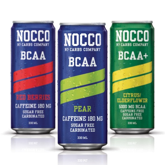 Nocco Zero Carb BCAA Energy Drink Variety Pack