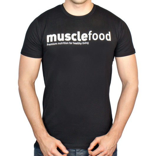 Musclefood Fit T-Shirt - Black