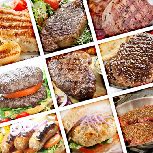 UKAS Approved Extra Lean Meat Selection