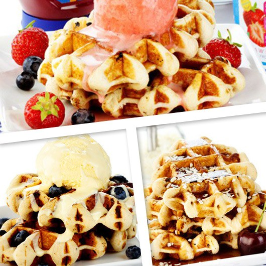 High Protein Waffles Variety Pack