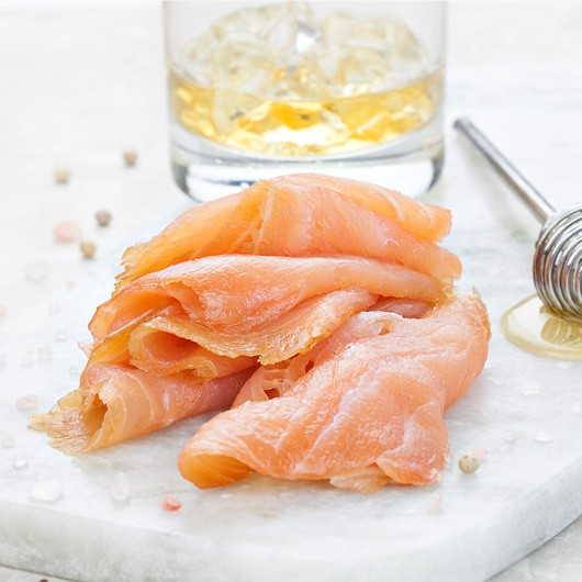 Whiskey & Honey Marinated Smoked Salmon