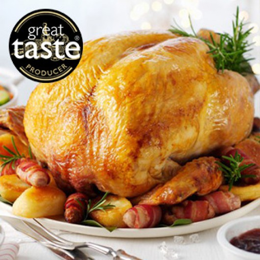 Luxury Large Christmas Turkey Hamper