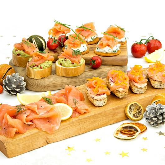 Luxury Smoked Salmon Selection - 4 Flavours