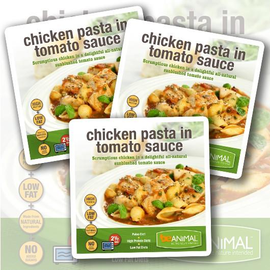 beANIMAL Chicken & Pasta - 6 Meals