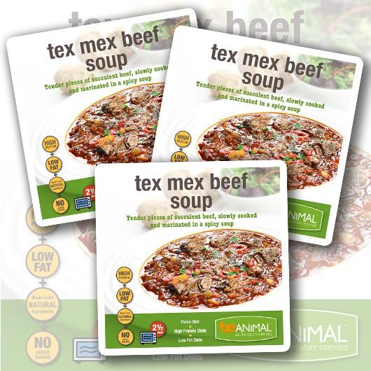 Tex Mex Beef Soup - 6 Meals ****