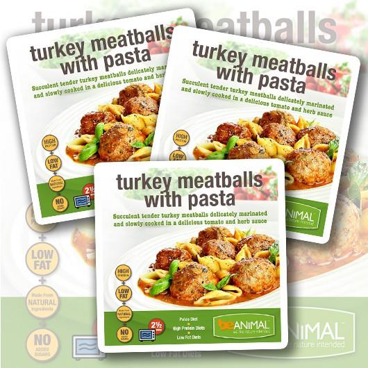 Turkey Meatball & Pasta - 45g Protein