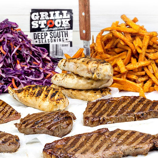 Grillstock Deep South Steak & Breast Hamper