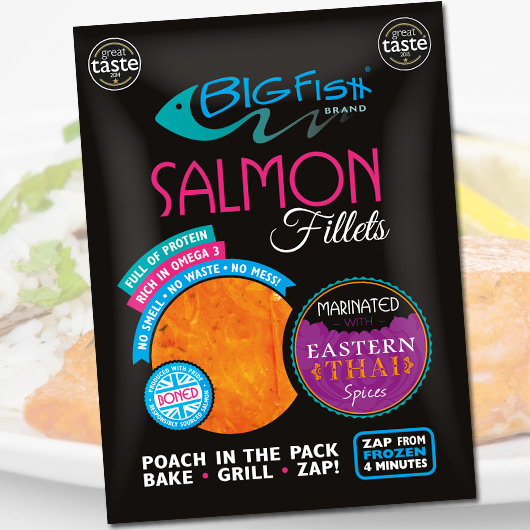 Steam Fresh Eastern Thai Salmon - 250g