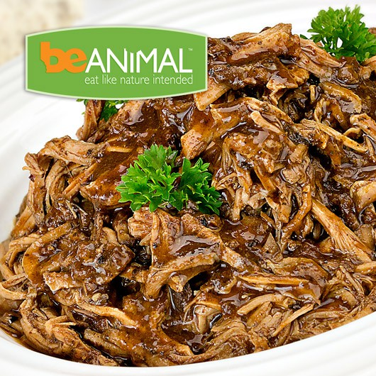 Pulled Pork with Adobo Sauce - 64g Protein ****