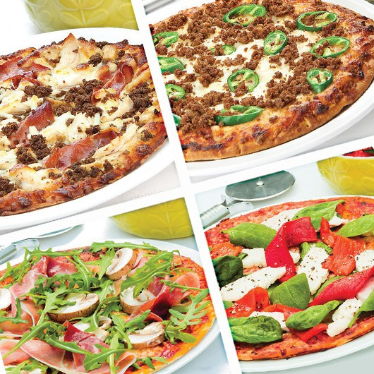 High Protein Pizza Variety Pack – 4 x 350g