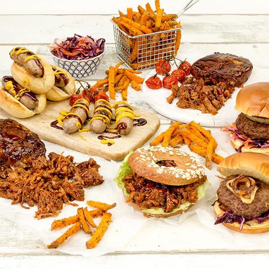 American BBQ Smokehouse Selection