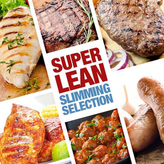 Super Lean Slimming Selection - 56 Pieces