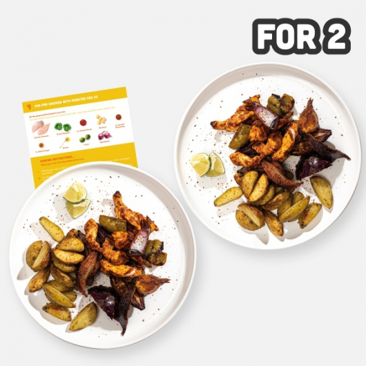 2 Person Piri Piri Chicken with Roasted Vegetables Recipe Kit