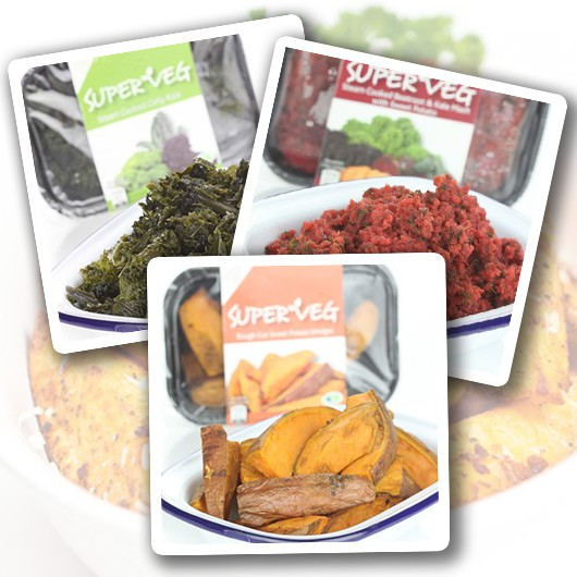Ready Cooked Super Veg Variety Pack