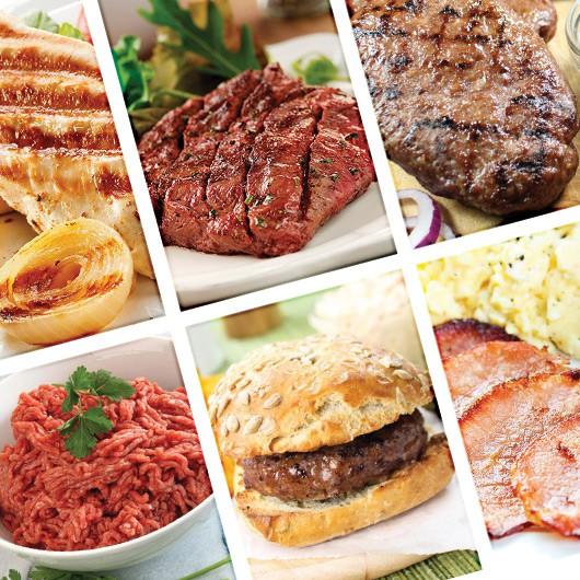 85 Piece Healthy Lean Meat Hamper