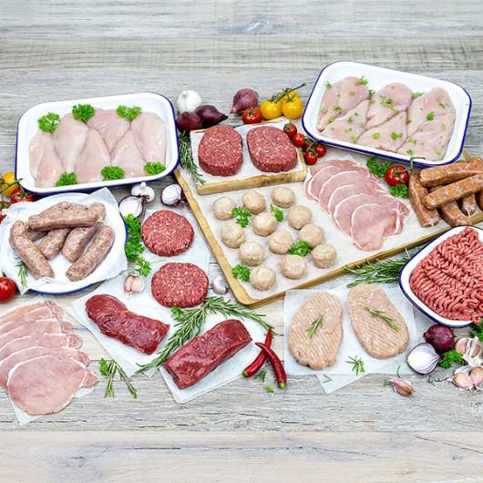 56 Piece Super Lean Meat Hamper
