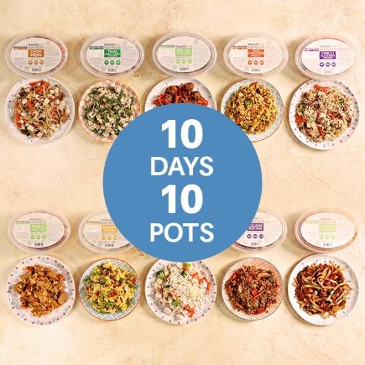 10 Vegan Meals - £2.99 Each (Save £10)