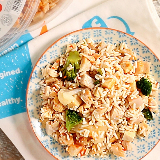 Sweet Chilli Chicken & Rice Pot - 38g Protein & 353 kcal
