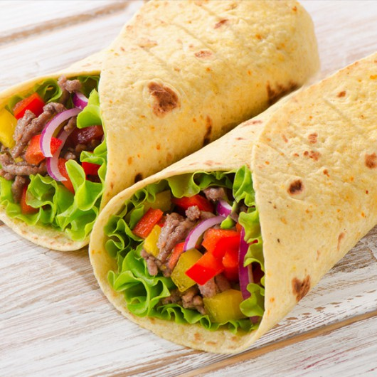 Low Carb Wheat Tortillas - 6 x 42g