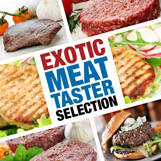 Exotic Meat Taster Selection ****