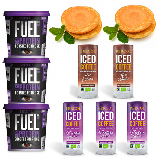 Percol Wake Up and Go Protein Breakfast Bundle