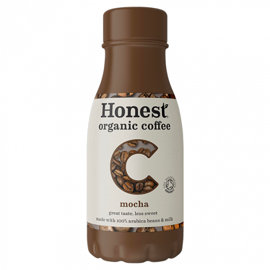 Honest Organic Coffee Mocha 12 x 240ml
