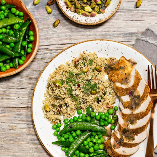 Persian Lime Chicken with Quinoa  - 55g Protein