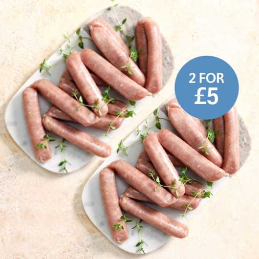 24 x 38g Extra Lean Caramelised Sausages