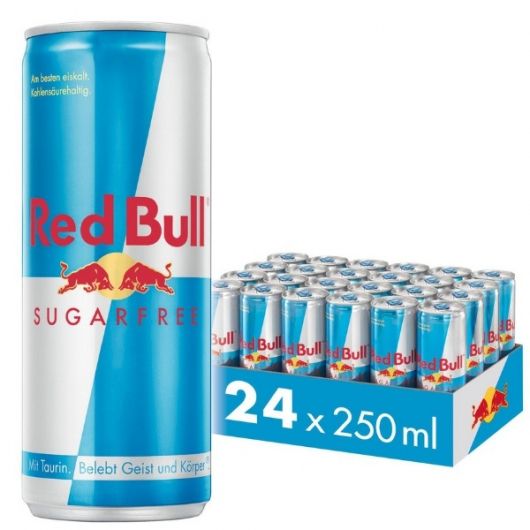 Red Bull Sugar Free Energy 250ml - 24 Pack