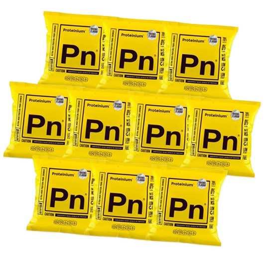 10 x Proteinium Pork Crunch - 21g Protein