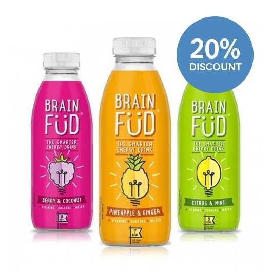 Brain Fud Natural Energy Drink