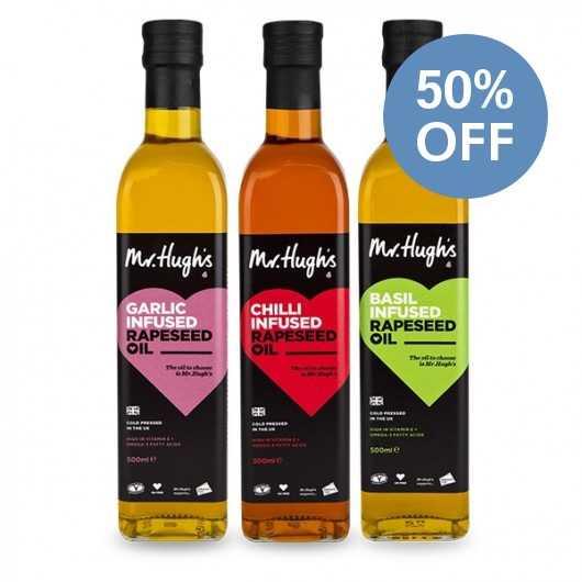 Mr Hughs Infused Rapeseed Oils
