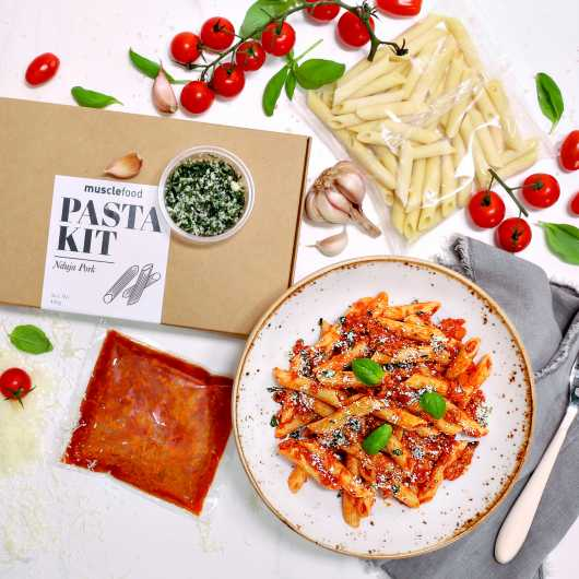 Nduja Pork Pasta Meal Kit 394 Kcals