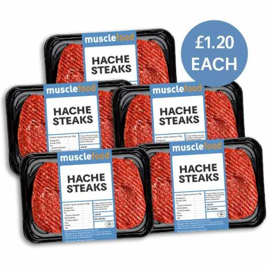 10 x 150g Hache Steaks
