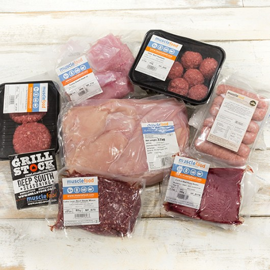 32 Piece March Lean Meat Selection