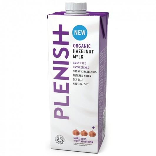 Plenish Dairy Free Hazelnut Milk - 1ltr