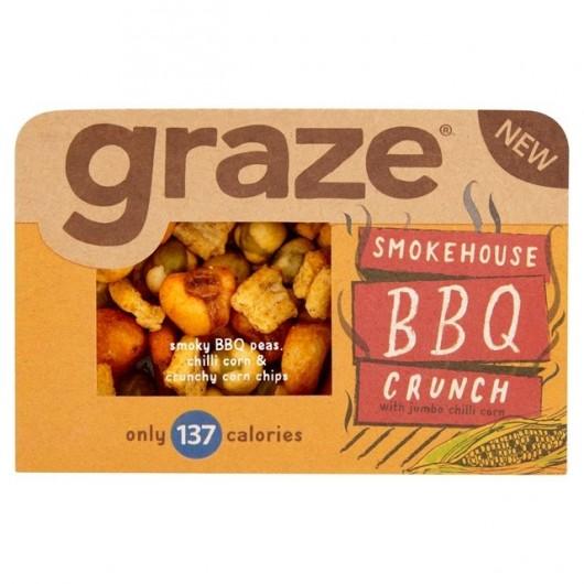 Graze Smokehouse BBQ Crunch - 31g