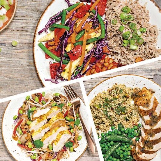 Muscle Building Lunch For A Week - 5 Meals