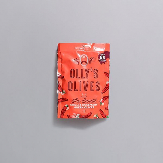 Olly's Unpasteurised Greek Olives - Rosemary & Chilli